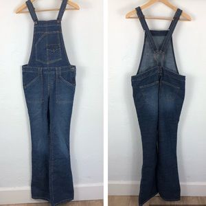 Levi's O-ring open back bootcut overalls
